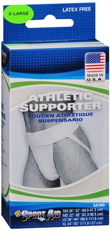 Sport Aid Athletic Supporter Xlarge 1 Each [763189233149]