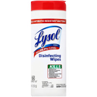 Lysol Disinfecting Wipes, Antibiotic Resistant Bacteria 35 ea [019200930307]