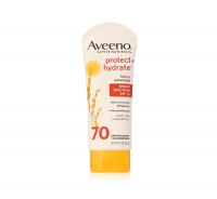 AVEENO Active Naturals Protect + Hydrate Lotion Sunscreen SPF 70 3 oz [381371151806]