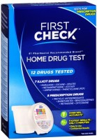 First Check Home 12 Drug Test 1 Each [643281069122]