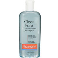 Neutrogena Clear Pore Oil-Eliminating Astringent 8 oz [070501116906]