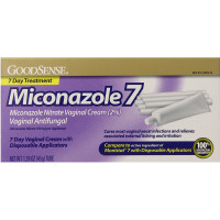 Good Sense Miconazole 7 Day Vaginal Cream with Disposable Applicators 1.59 oz [070030134228]