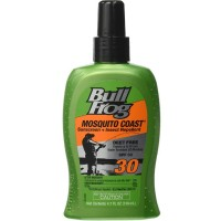 BullFrog Mosquito Coast Sunscreen With Insect Repellent, SPF 30 4.7 oz [000774317779]