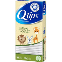 Q-tips Cotton Swabs For Babies 170 ea [305210209459]