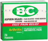 BC Arthritis Formula Pain Reliever Powders 24 Each [042037102838]