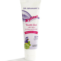 Dr. Branam's Xylitol Tooth Gel for Babies & Toddlers, Go Go Grape, 4 oz [899432002313]