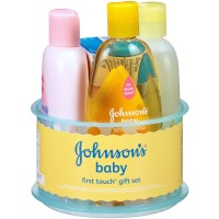 JOHNSON'S  Baby First Touch Gift Set 1 ea [381371154418]