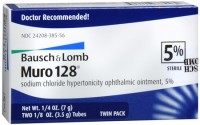 Bausch & Lomb Muro 128 Ointment 5% 2-Pack 7 g [324208385562]