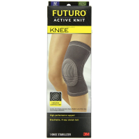 FUTURO Active Knit Knee Stabilizer, Medium 1 ea [051131201477]