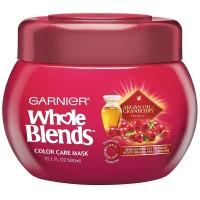 Garnier Whole Blends Color Care Mask, Argan Oil & Cranberry Extracts 10.10 oz [603084462704]