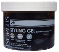 Isoplus Styling Gel Extra Conditioning Dark, 32 oz [021306213529]