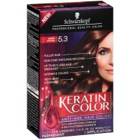 Schwarzkopf Keratin Color Anti-Age Hair Color, Berry Brown [5.3] 1 ea [017000127507]