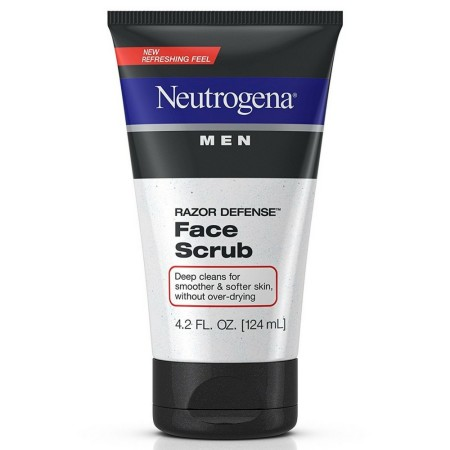Neutrogena Men Razor Defense Face Scrub 4.20 oz [070501020036]
