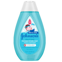 JOHNSON'S Clean & Fresh Children's Tear-Free Shampoo & Body Wash, Sulfate-Free 13.6 oz [381371183906]