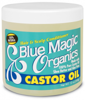 Blue Magic Organics Castor Oil, 12 oz [075610168105]