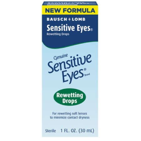 Bausch & Lomb Sensitive Eyes Rewetting Drops 1 oz [310119001141]