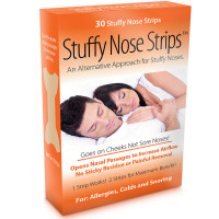 Stuffy Nose Solutions Stuffy Nose Strips 30 ea [868480000206]