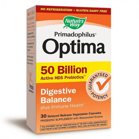 Nature S Way Primadophilus Optima Digestive Balance