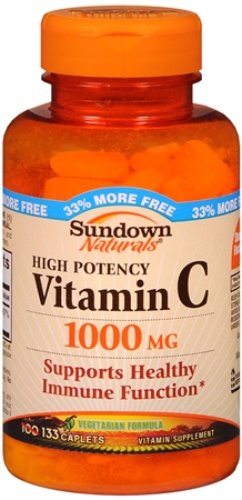 Sundown Vitamin C 1000 mg Caplets 133 Caplets [030768040727]