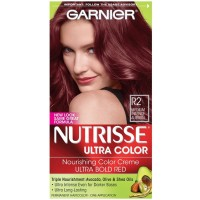 Garnier Nutrisse Haircolor Creme, R2 Medium Intense Auburn 1 ea [603084223565]