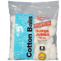Cotton Balls Super Jumbo 70 ea [793366202767]