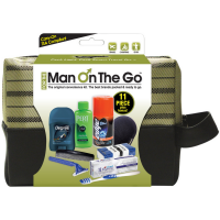 Man On the Go Premium11-Piece Travel Kit 1 ea [079718001869]