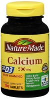 Nature Made Calcium 500 mg Tablets 130 Tablets [031604025175]