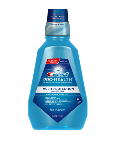 Crest Pro-Health Oral Rinse, Refreshing Clean Mint 50.7 oz [037000449836]
