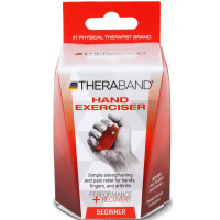 Thera-Band Hand Exerciser, Beginner, Red, 1 ea [087453130867]