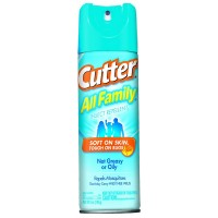 Cutter All Family Insect Repellent Aerosol 6 oz [071121540553]
