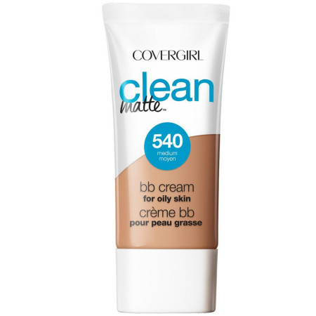 CoverGirl Clean Matte BB Cream Medium 540 For Oily Skin 1 oz [022700251148]