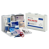 First Aid Only 25 Person First Aid Kit, Metal Case, 107 Pieces 1 ea [092265224970]