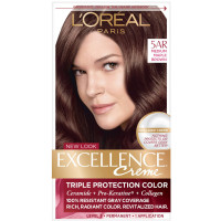 L'Oreal Excellence Creme - 5AR Velvet Brown (Medium Maple Brown) 1 Each [071249121443]