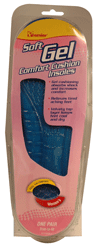 Premier Gel Insoles for Women, One Size 1 pair [034197003841]