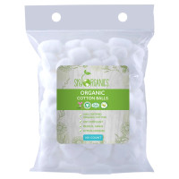 Sky Organics Cruelty-Free 100% Biodegradable Cotton Balls, 100 ct. [856045007647]