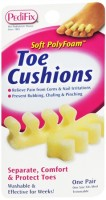 PediFix Toe Cushions One Size Fits Most 2 Each [092437818303]
