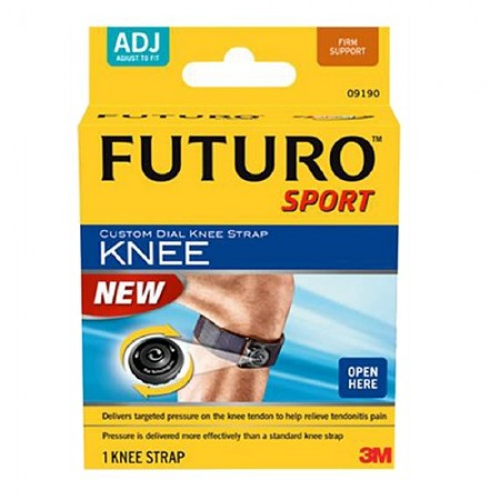 FUTURO Custom Dial Knee Strap, Adjustable 1 ea [051131200470]