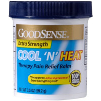 Good Sense Cool 'N Heat Thearpy Pain Relief Balm 3.5 oz [846036002645]