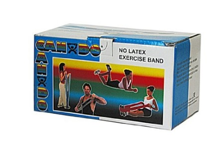 Cando Latex-Free Bands - Heavy Resistance Blue 6 Yard Heavy Resistance - 1 ea [714905002310]