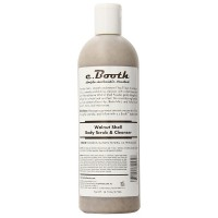 c. Booth Body Scrub & Cleanser, Walnut Shell 16 oz [072151801058]