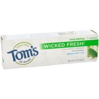 Tom's of Maine Natural Wicked Fresh Fluoride Totohpaste Spearmint Ice 4.70 oz [077326830840]