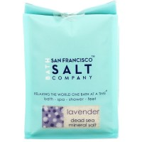 San Francisco Salt Company  Relaxing Lavender Dead Sea Mineral Soak 28 oz [817678012385]