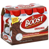 BOOST Nutritional Energy Drinks, Chocolate 8 oz, 6 ea [041679675663]