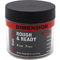 Style Sexy Hair Dimension Rough & Ready 4 Shine 7 Hold Styling Pudding 4.4 oz [646630002634]