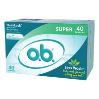 O.B. Super Tampon, Original 40 ct [078300070092]