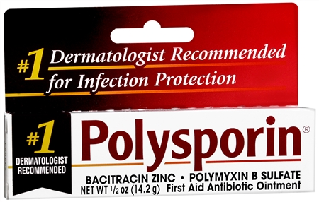 Polysporin First Aid Antibiotic Ointment 0.50 oz [300810798884]