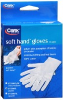Carex Soft Hand Gloves Large P75-00 1 Pair [023601875013]