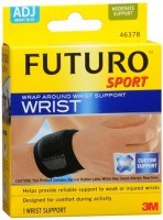 FUTURO Sport Wrap Around Wrist Support Adjustable 1 ea [382254123002]