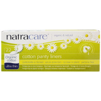 Natracare Organic Cotton Panty Liners Ultra Thin 22 ea [782126003096]
