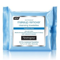 Neutrogena Make-Up Remover Cleansing Towelette, Fragrance-Free 25 ea [070501110904]